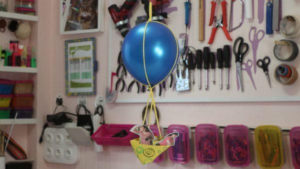 oficina de arte balão